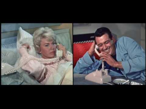 "Doris Day and Rock Hudson - ""The Deception Begins"" from Pillow ..."