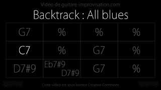 All blues (120bpm) : Backing track