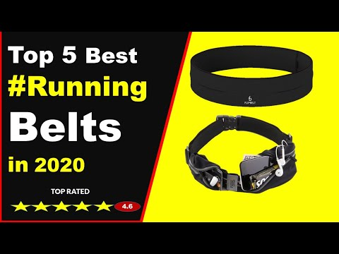 Top 5 Best Running Belts in 2020 (Buying Guide)