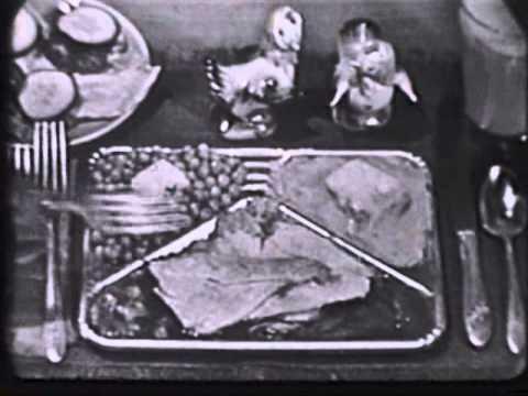 1955 Swanson TV Dinner Commercial
