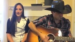 sunshine and whiskey frankie ballard anna mae live acoustic cover