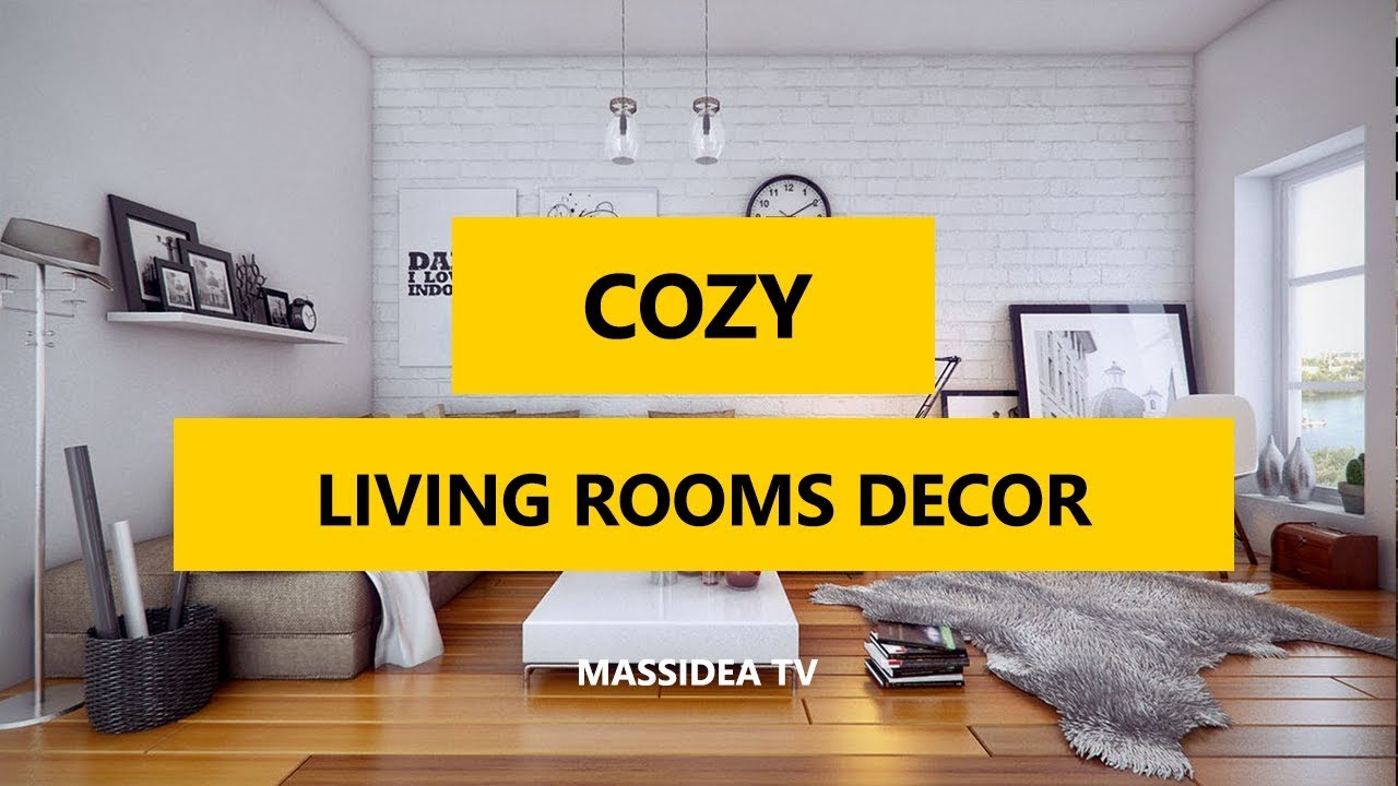 50+ Best Cozy Living Rooms Furniture and Decor Ideas 2017 - YouTube
