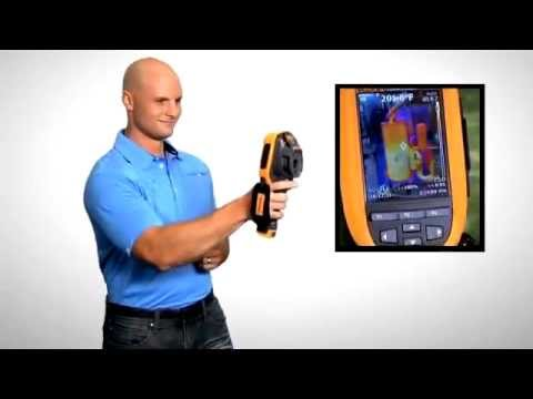 The new Fluke Ti100 Thermal Imaging Camera Range
