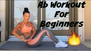 Ab Workout For Beginners