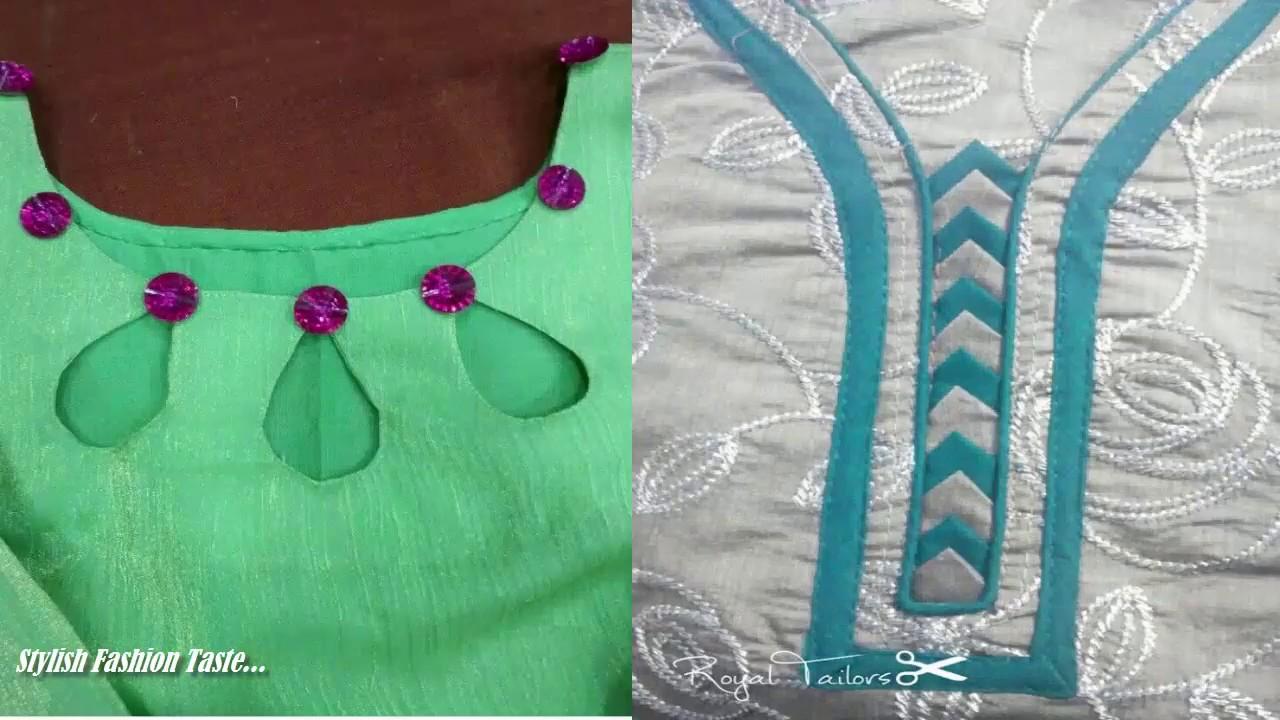 Best Salwar Suit Neck Patterns Latest Neck Designs Neck Design For Suit Kurti Kameez Youtube