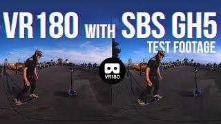 6K VR180 Test w/ 2 GH5 SBS + Entaniya HAL200, Onewheel+ XR and Guru 360° Rover