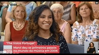 Marvi  - Intervista iha Televizaun RTP Portugal | The Voice Portugal 2018
