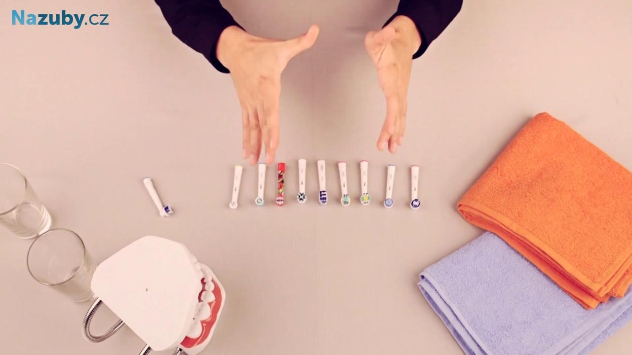 Přehled náhradních hlavic pro kartáčky Oral-B