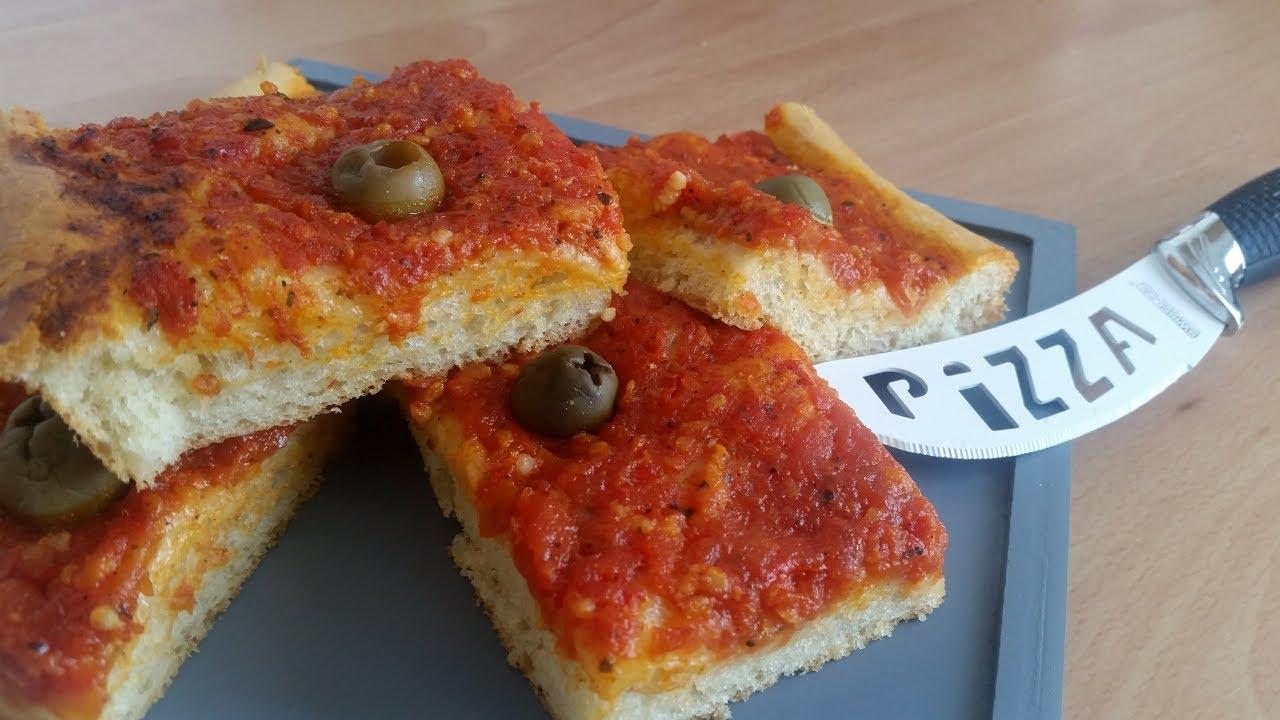 Pizza alg rienne recette facile p te paisse mina chett youtube - Recette de cuisine algerienne gratins ...