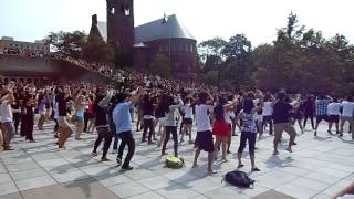 Gangnam Style Flash Mob at Cornell University 9/14/12 강남스타일 플래시몹