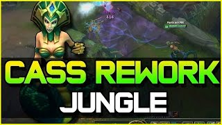 CASSIOPEIA REWORK JUNGLE GAMEPLAY ft. Redmercy | League of Legends