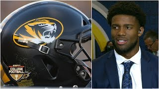 Kelly Bryant explains decision to transfer to Missouri | SEC Media Days | College Football Live
