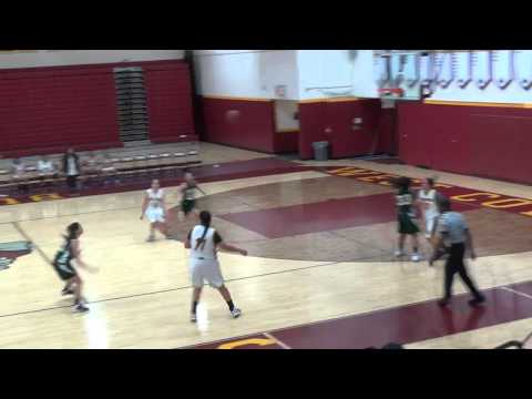 South Hills vs. West Covina Girls freshmen Basketball 2016 1st Half