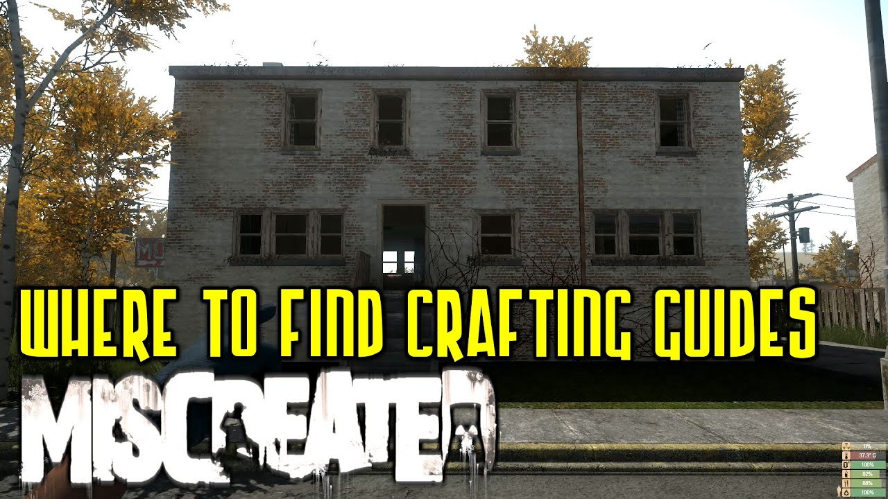 Where to find crafting blueprint guides in miscreated building where to find crafting blueprint guides in miscreated building guides youtube malvernweather Images