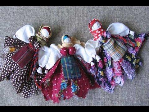 Русская тряпичная кукла — Славянская культура