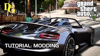 GTA 5 - Mods installieren - Deutsch - Tutorial - Grand Theft Auto 5 Mods installieren (modden)