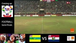 NATIONAL COUNTY MEET 2019/2020. FOOTBALL Semi Finals: Lofa vs. Grand Kru
