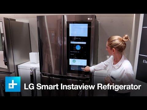 LG Smart Instaview Refrigerator - Hands On - IFA 2016