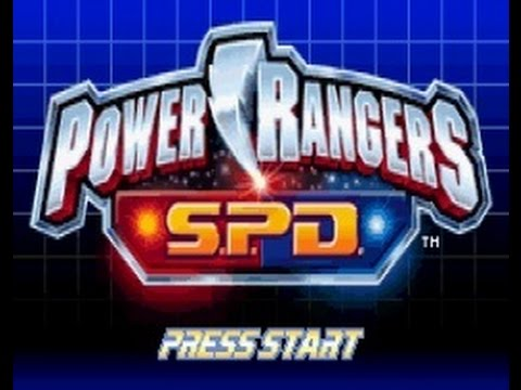 Power Rangers S.P.D Walkthrough Complete Game (GBA)