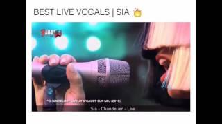Коротко о том как поет Sia