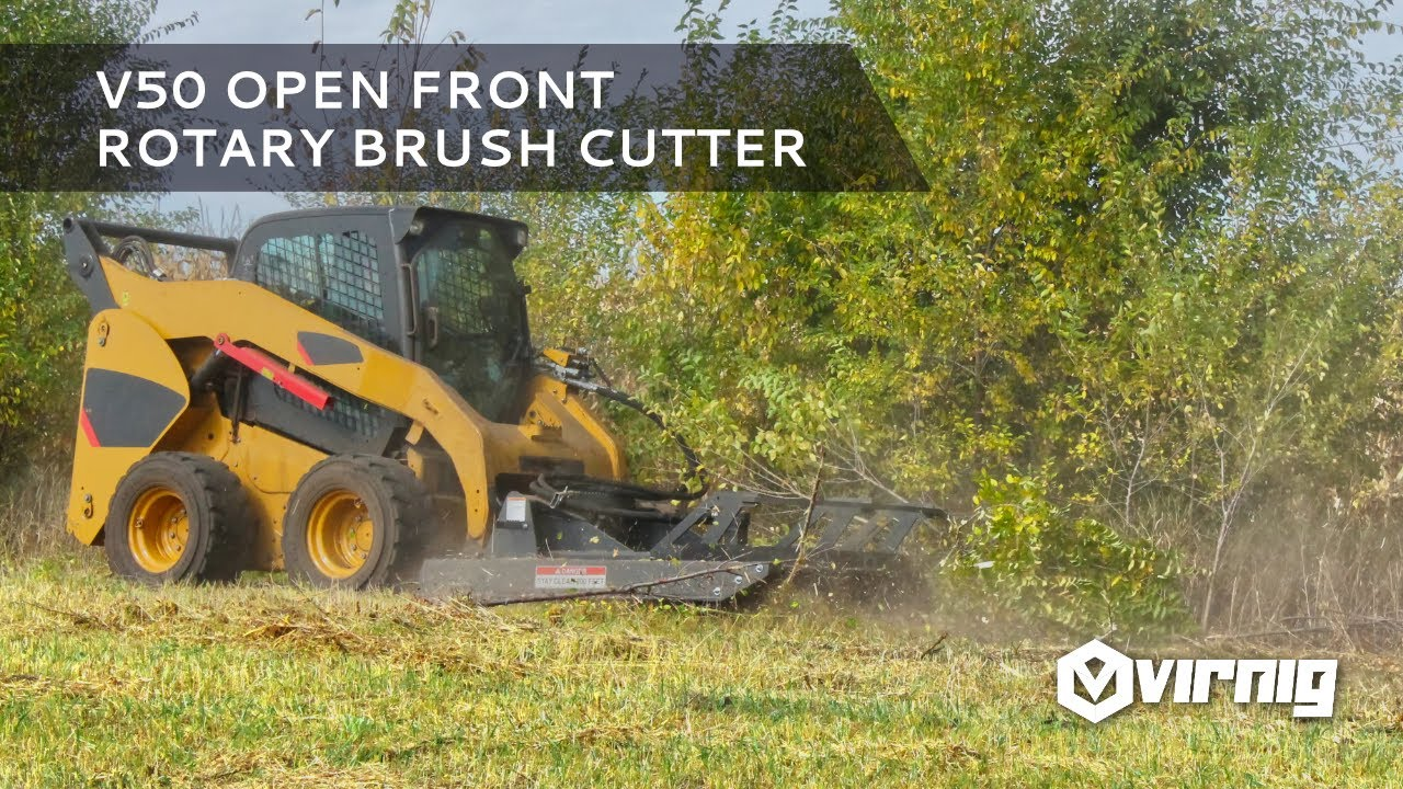 All about the V50 Series Open Front Brush Cutter [Video]