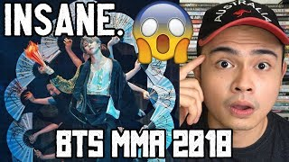Non K-Pop Fan Reacts to BTS 2018 MMA Full Performance!