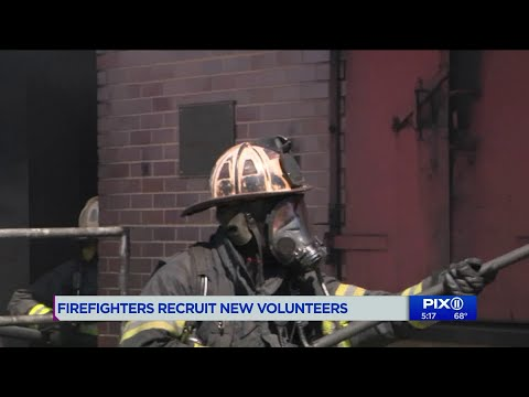 Firefighters On Long Island Recruit New Volunteers