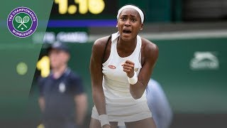Polona Hercog vs Cori Gauff Wimbledon 2019 Third Round Highlights