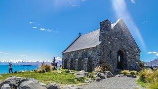 Yeni Zelanda | Tekapo Gölü ve Good Shepherd Kilisesi