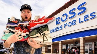 SEARCHING FOR LIMITED SNEAKERS AT ROSS IN 2019!