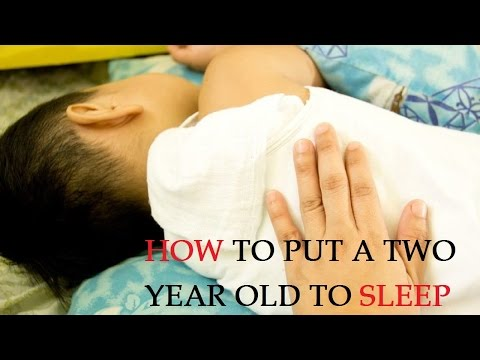 How to Put a Two Year Old to Sleep