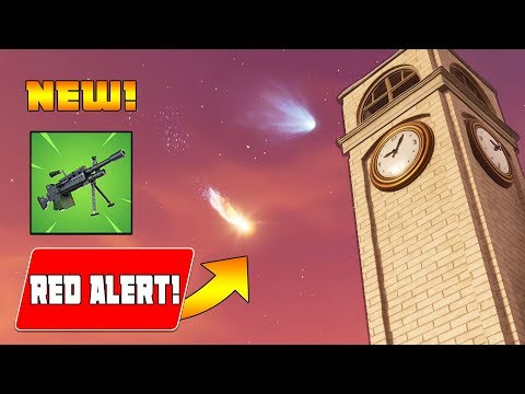 *NEW UPDATE* NEW METEOR has HIT 'TILTED TOWERS!' - NEW LMG & 50vs50 (Fortnite Battle Royale)