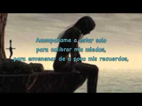Acompañame a Estar Solo Letra-Ricardo Arjona.m4v - YouTube