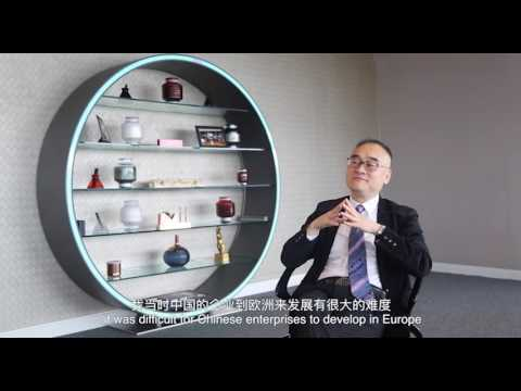 Xu Weiping, the man behind ABP London
