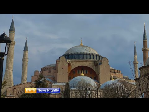 Turkish leaders expected to decide on conversion of Hagia Sophia into mosque   EWTN News Nightly