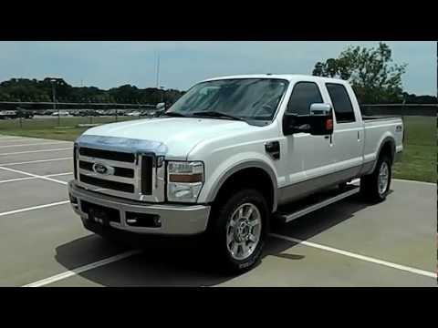 2010 Ford F-250 King Ranch 4WD FX4 Navigation Sunroof, 20K, Like New, Clean CarFax