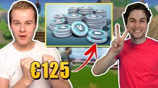 MEGA V-BUCKS GIVE-AWAY EN GENIALE IMPULSE VAN ROY! - Fortnite Battle Royale (Nederlands)