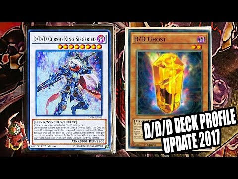 *YUGIOH* BEST! D/D/D DECK PROFILE! FT. DDD DAVE! POST MACR! CRAZY TECHS?! MAY 2017 BANLIST! [UPDATE]