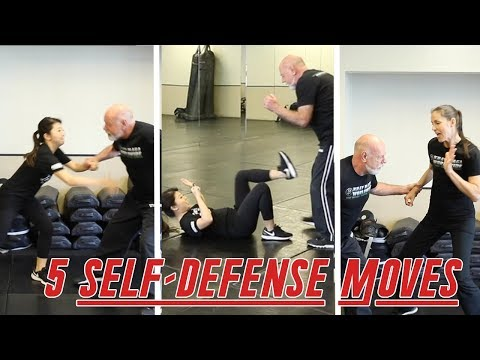 5-self-defense-moves-everyone-should-know-|-krav-maga-women-techniques