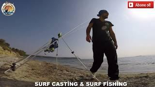 surf casting KARAGÖZ VE MIRMIR ÇANAKKALE BALIK AVI  SURF CASTİNG SURF FİSHİNG