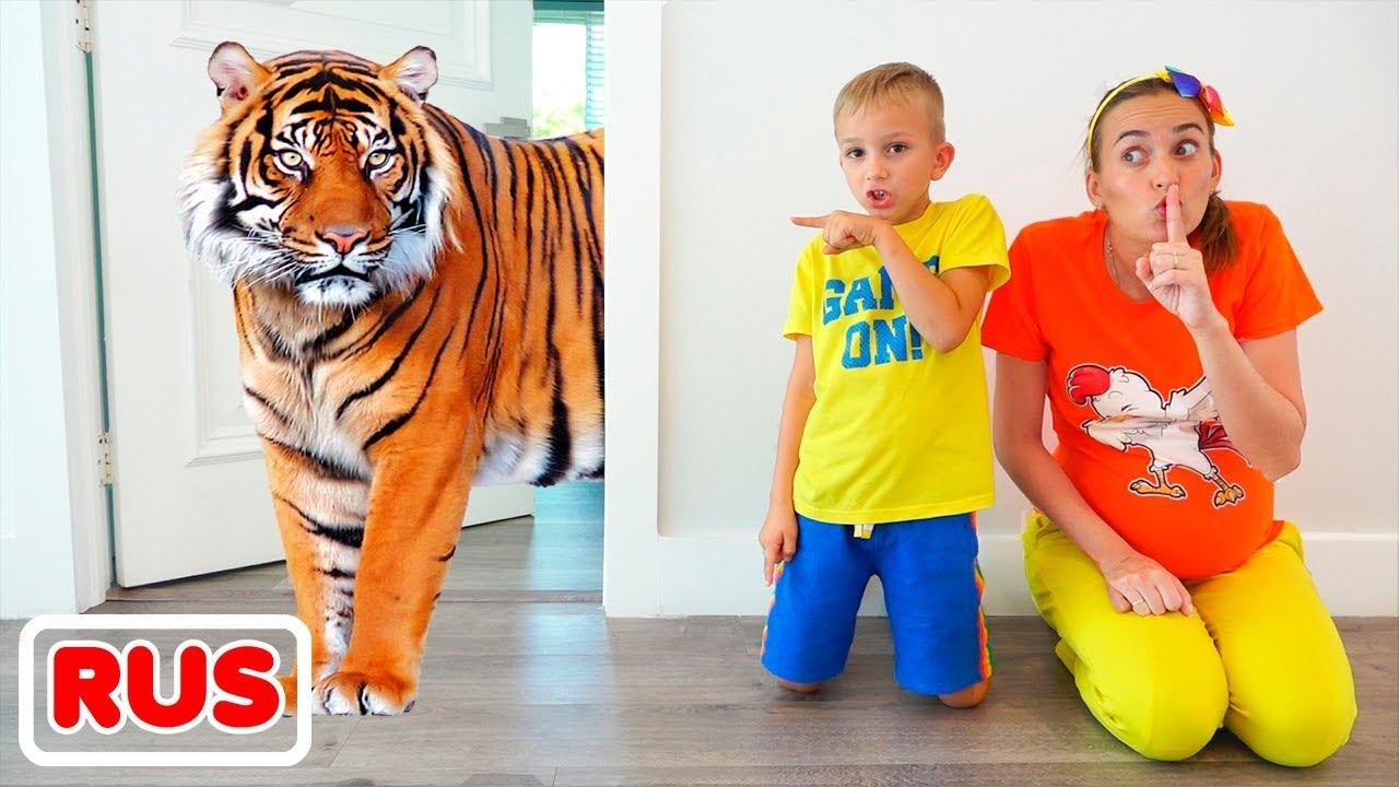Влад и Никита очень хотят иметь домашних животных Смотри на OKTV.uz
