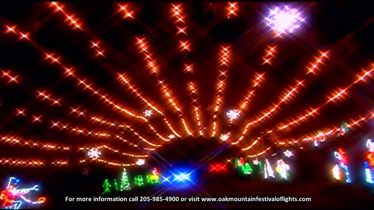 Festival Of Lights coming to Oak Mountain Ampitheatre 11-27-2014 ...