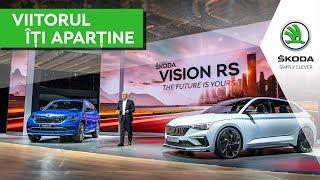Conferința de presă SKODA - Paris Motor Show 2018