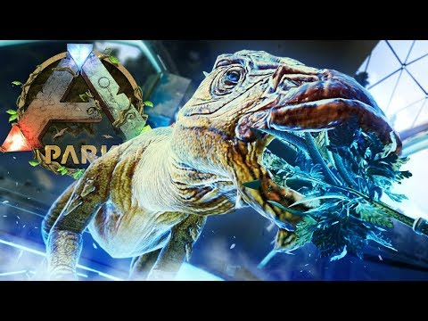 ARK Park VR - Feeding Dinosaurs, Hatching Dino Eggs, Crafting Weapons, Riding & Combat! - Gameplay