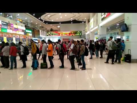 Amazing.. Integrated system at Terminal Bersepadu Selatan Malaysia