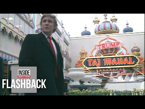 Donald Trump Gripes About The Press During 1990 Opening Of Atlantic City Casino