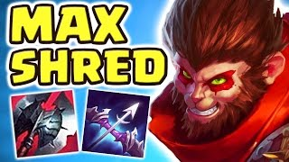 THE WUKING IS BACK | NEW 105% ARMOR SHRED BUILD DEALS INSANE DAMAGE (Wukong Jungle) - Nightblue3