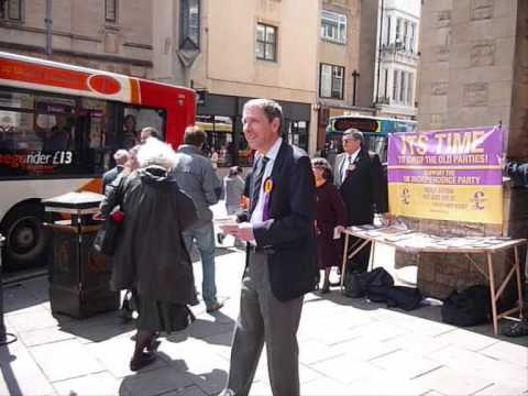 UKIP European Election Candidates In Oxford