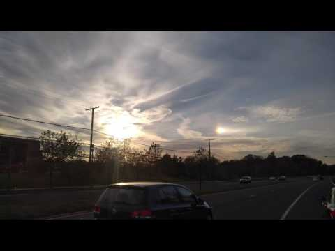 Two sun in maryland or ufo ?