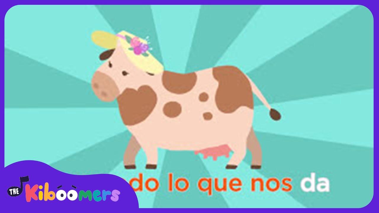 Señora Vaca | Canciones de la Granja | Canciones Infantiles | The Kiboomers